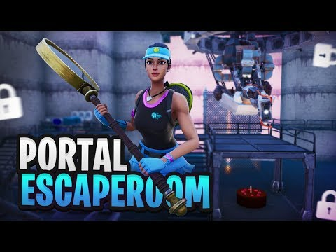 DE PORTAL ESCAPEROOM - Fortnite Creative met Rudi thumbnail