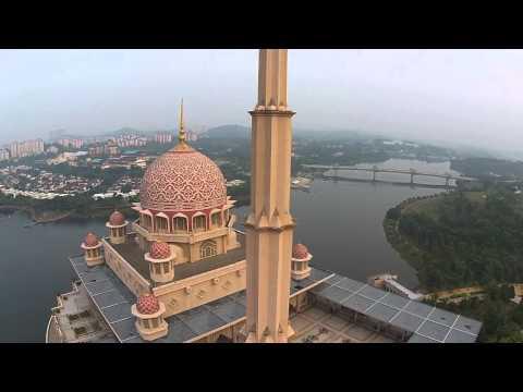 Putrajaya Malaysia Drone View.