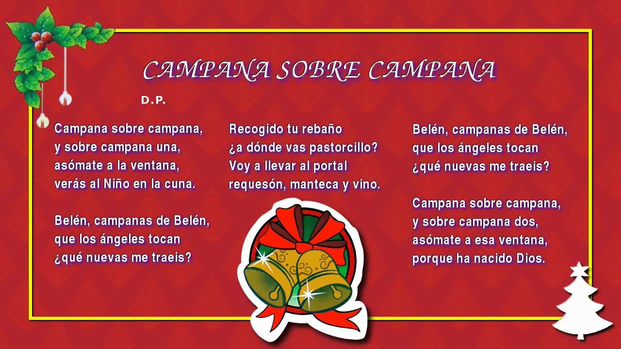 Imagenes De Villancicos Campana Sobre Campana.Miss Rosi 03 Campana Sobre Campana Villancicos Navidenos Feliz Navidad Christmas Carols