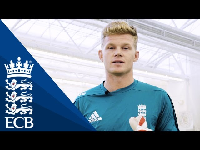 How To Move As A Wicketkeeper With Sam Billings - England Cricketing Tips