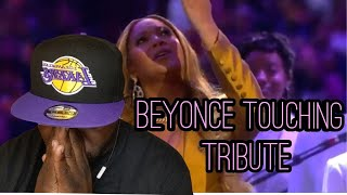 Beyonce | XO and Halo | Kobe Bryant Memorial | Reaction