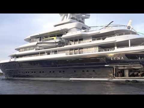 Megayacht LUNA (video #2)