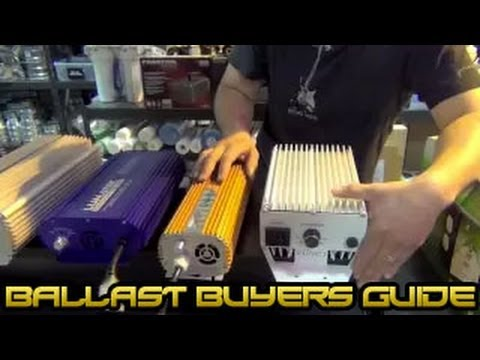 Grow Light E- Ballast Buyer's Guide | Review Compare Different HID Ballasts | What Ballast Is Best
