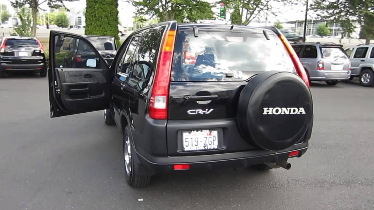 2002 Honda CRV Black  STOCK 731062  YouTube