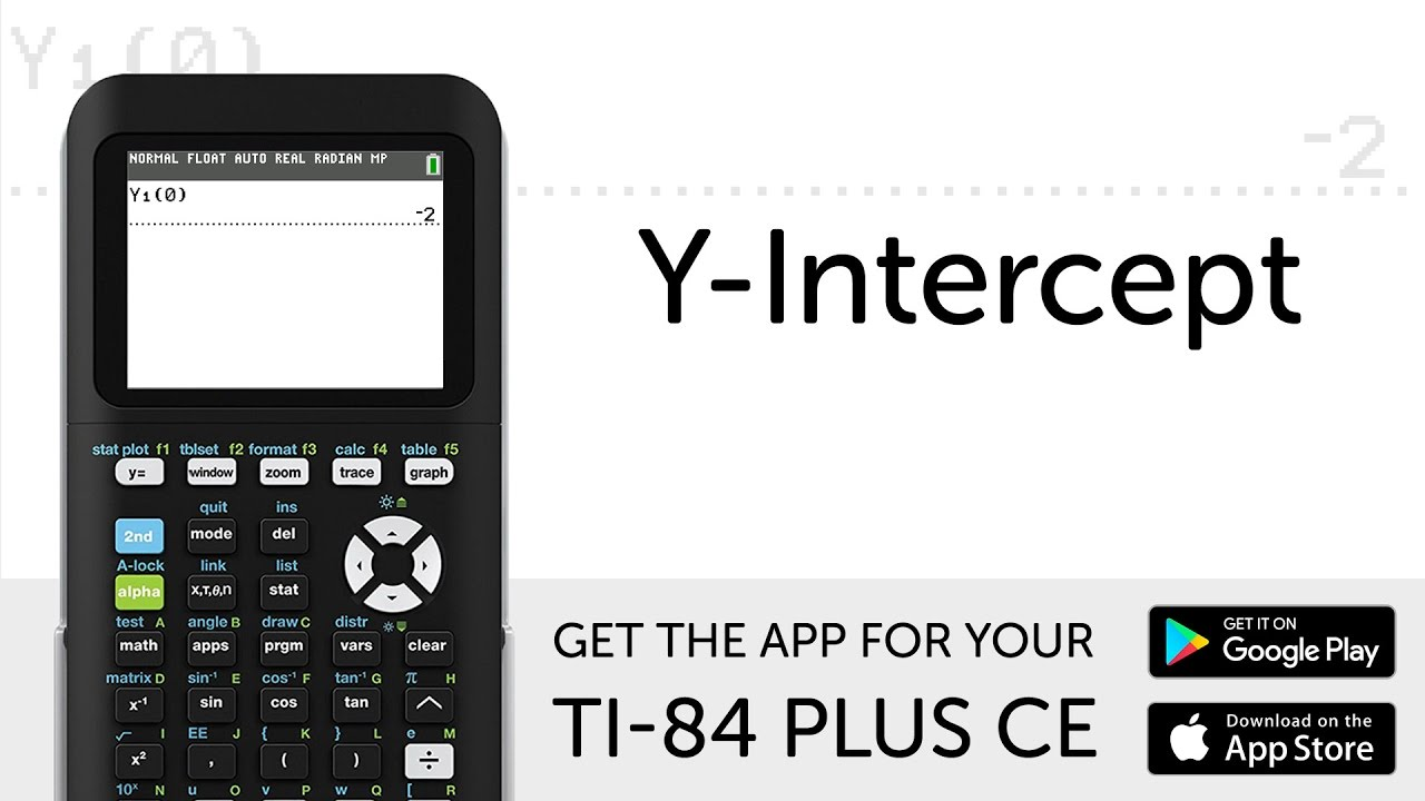 y intercept manual for ti 84 plus ce graphing calculator youtube rh youtube com graphing calculator manual ti-84 graphing calculator manual ti-84 plus