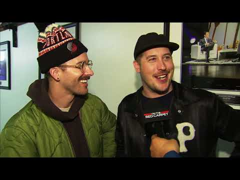 PORTUGAL. THE MAN talk before their 2017 American Music Awards performance