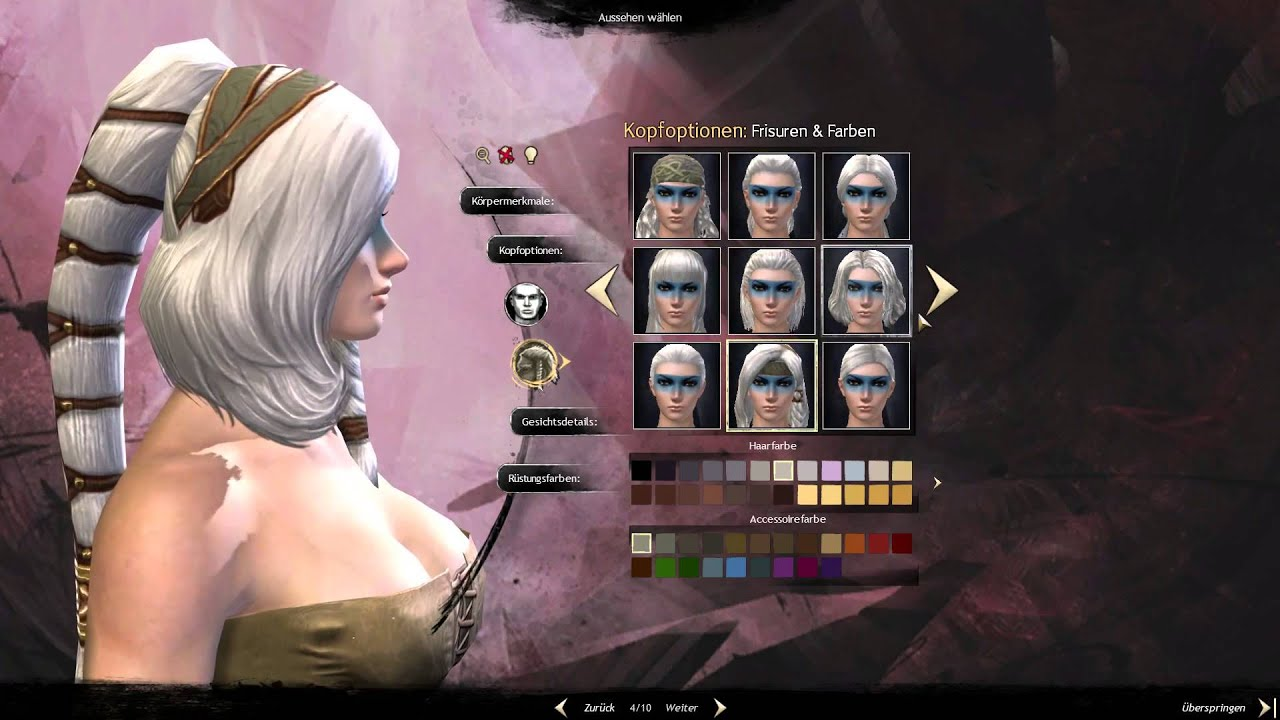 Guild Wars 2 Mein Norn Ele 1 Charakter Erstellung Youtube