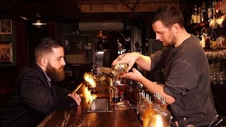 Try a Mean Fiddler: Star bartender, from Wall Street's Dead Rabbit pub, makes us his favorite drink
