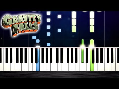Gravity Falls Theme - Piano Tutorial by PlutaX thumbnail