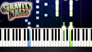 Baixar Gravity Falls Theme - Piano Tutorial by PlutaX