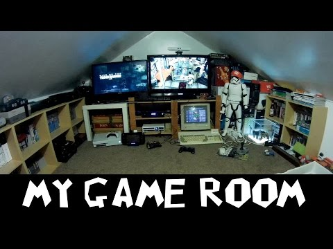 My Game Room Set Up - My Retro Gaming Man...