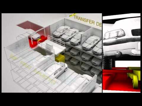 Simmatec Automated Car Parking System by Takashimaya Construction & Development