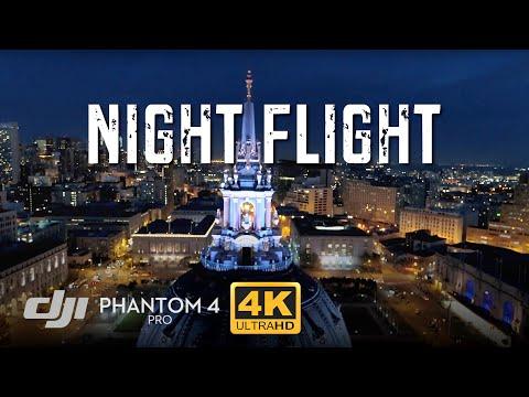 Phantom 4 Pro Low Light Night Test Footage [4K]