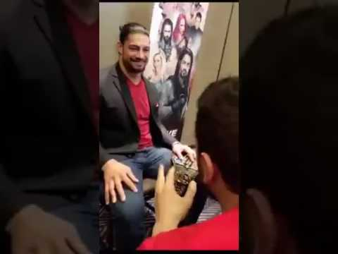 Roman Reigns funny interview in Studio