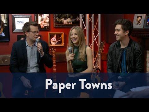 Paper Towns - John Green, Nat Wolff, Halston Sage 1/5