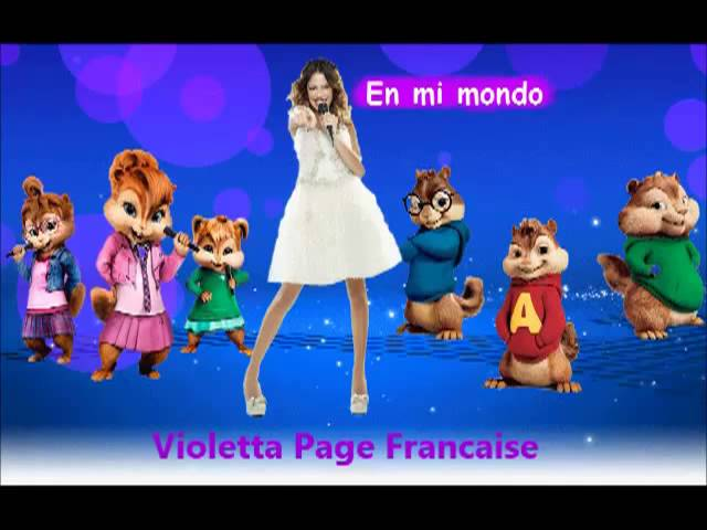 Violetta - En mi mondo Chipmunks et Chippettes version Travel Video