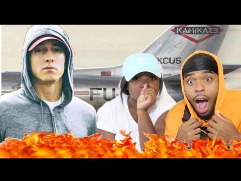 THE GOAT IS BACK 😱🔥 | Eminem- The Ringer (Official Audio) Kamikaze Album | REACTION!!!