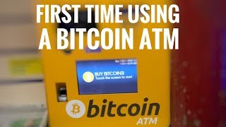 First time i Use a Bitcoin ATM 🤑