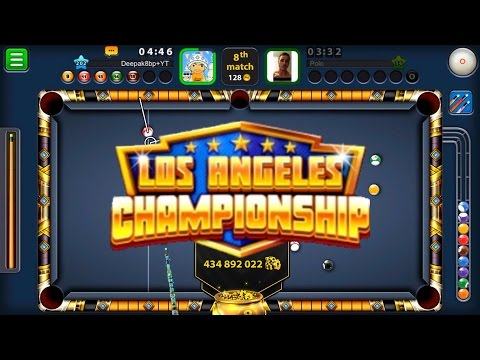 8 Ball Pool New Los Angeles Championship Tournament  -Limited Edition- + 14 Win Streak + 10k Subs