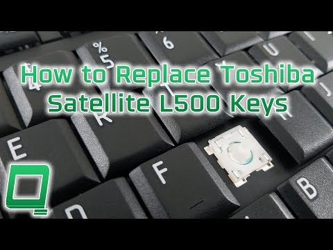How to Replace Toshiba Satellite Keys