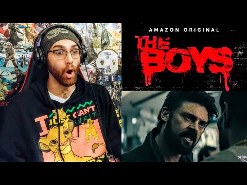 THE BOYS - Official Trailer Reaction