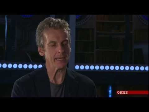 Peter Capaldi Doctor Who Interview BBC Breakfast 2014