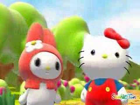 Sanrio - Hello Kitty 3D Animation