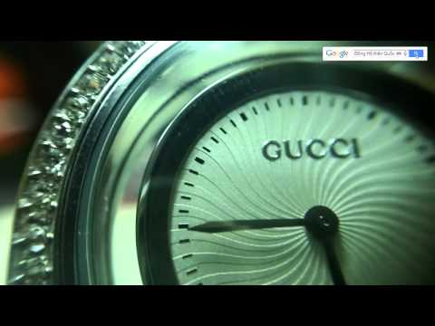 Đồng Hồ Gucci Nữ Viền Đính Đá