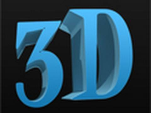 how to make 3d text photoshop cs5