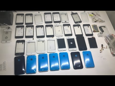 Huge Lot of iPhone 3G and 3GS Parts