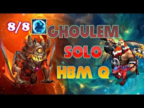 Castle Clash Ghoulem Solo HBM Q !!