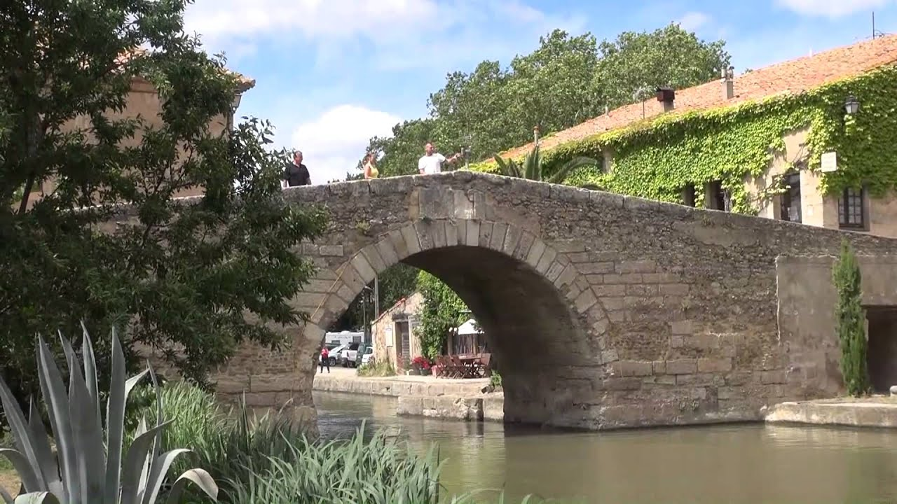 Canal du midi le somail youtube for Architecte canal du midi
