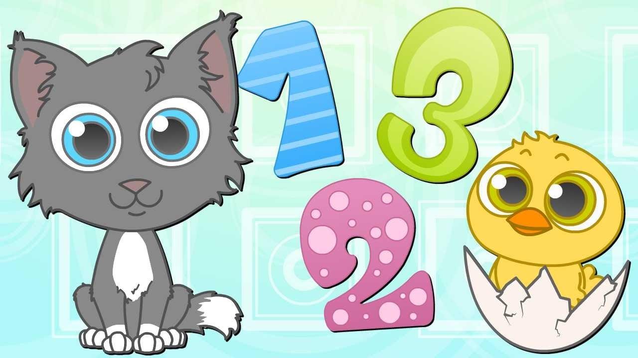 Los n meros y animales canciones infantiles dibujos animados youtube - Fotos de animales infantiles ...