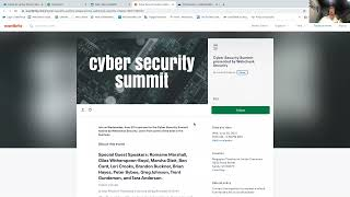 Cyber Security Summit 2021 - Presented by Webcheck Security