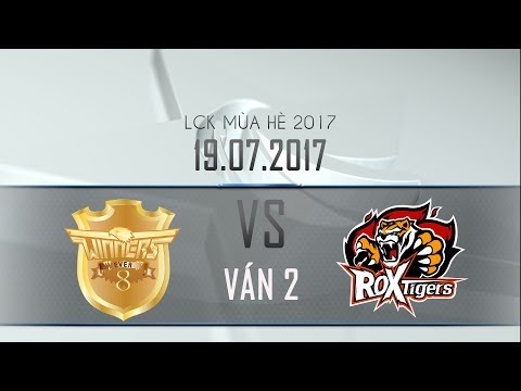 [19.07.2017] Tigers vs Ever8 [LCK Hè 2017][Ván 2]