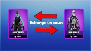 SKINS and V-BUCK eCHANGE on FORTNITE?! What's new - Restroye