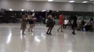Bachatango Italiano Line Dance performed by Elvie, Mabel, Beth, Nancy and Fatima