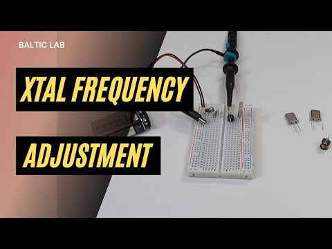 KF5OBS #5: Crystal oscillator frequency pulling
