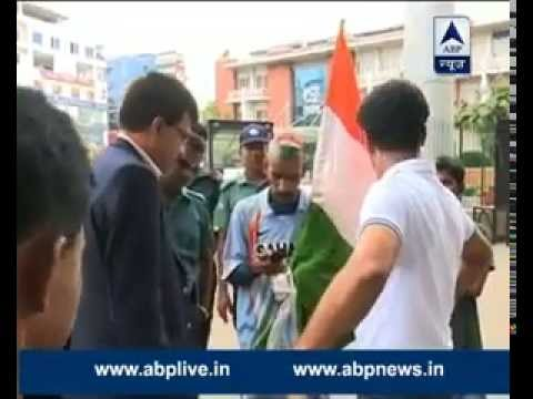 Watch: Team India Fan Sudhir Gautam given Dhaka police protection