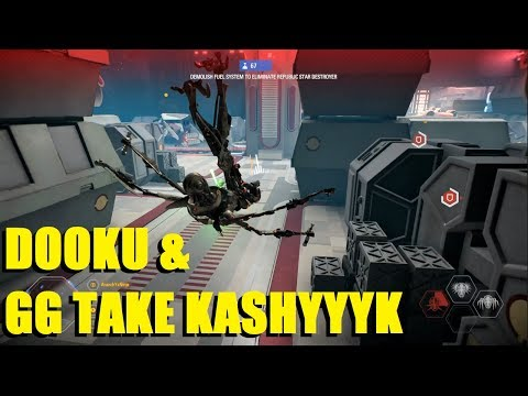 Star Wars Battlefront 2 - Count Dooku & General Grievous take Kashyyyk! Dooku & Grievous streaks! thumbnail