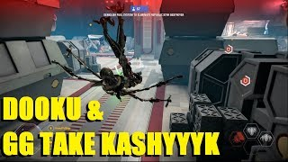 Star Wars Battlefront 2 - Count Dooku & General Grievous take Kashyyyk! Dooku & Grievous streaks!