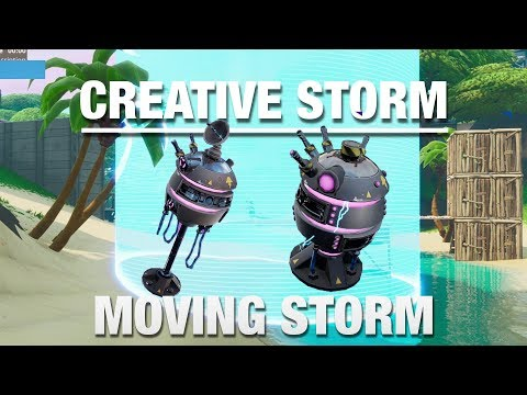 *NEW* ADVANCED STORM CONTROLLER & BEACON | Build Your Own Moving Storm On Fortnite Creative