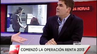 Entrevista de Mario Fernandez en Canal 24 horas de Chile