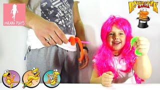 ♥ Пушистик Байла Невероятная Игрушка Для Детей - Magic Worm Bayla Toy For Kids