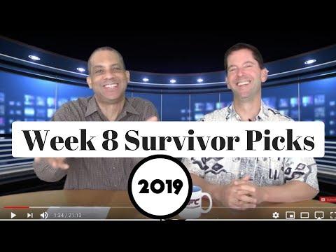 2019 NFL Survivor Pool Picks Week 8