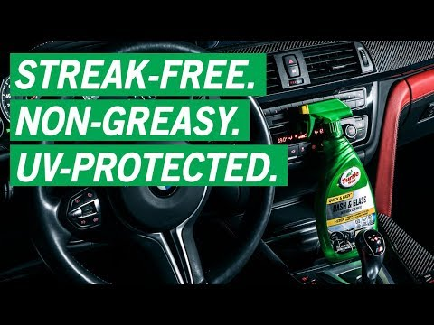 Best Interior Car Cleaner: Dash & Glass Interior Detailer | Turtle Wax