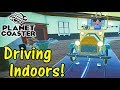 Let's Play Planet Coaster #15: Driving Indoors!