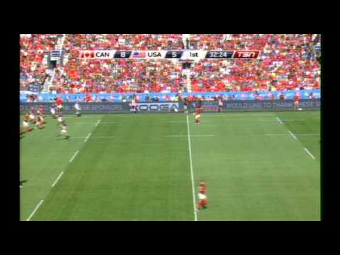 Canada vs USA Rugby World Cup Qualifier - August 24