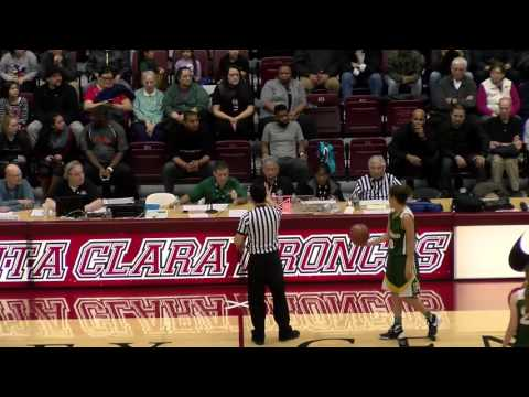 Pinewood girls basketball, CCS Open Division final, vs Archbishop Mitty, Mar 4, 2016