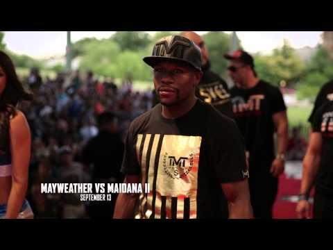 Guts Over Fear ft. Sia featured in #Mayhem: Mayweather vs Maidana Trailer